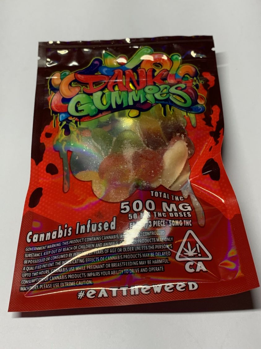 3rd Party Dank Gummies- Cannabis Infused- Mixed Edibles Gummies