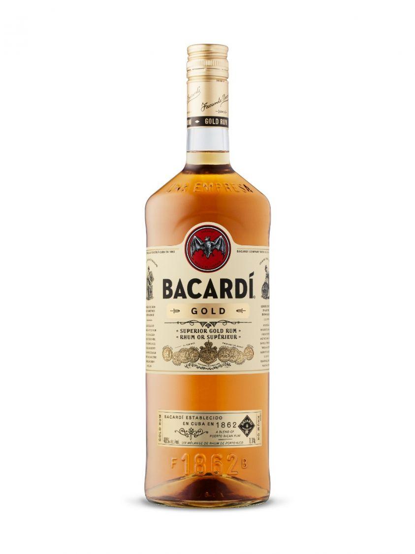 Bacardi Gold Rum 1.14L Drinks Drink
