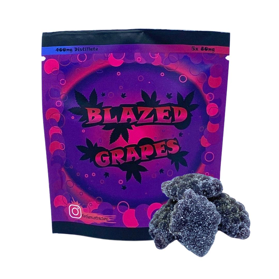 BLAZED GRAPES - 400MG THC Edibles Edible