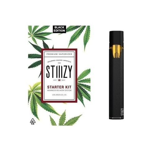 STIIIZY Starter Kit - Black Accessories Batteries