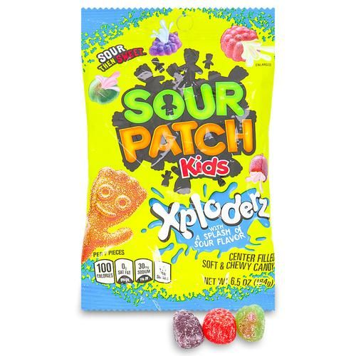 Sour Patch Kids Xploderz Candy Drinks Other