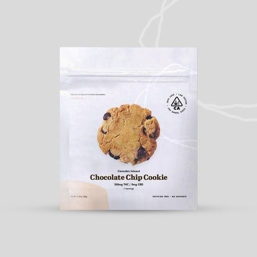 The Cookie Factory Chocolate Chip Cookie 350mg Edibles Chocolates