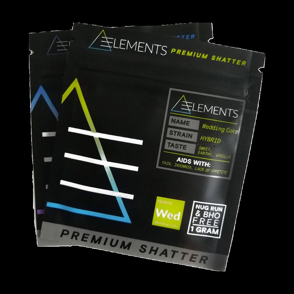Elements Elements Sour Diesel Premium Shatter Concentrates Shatter