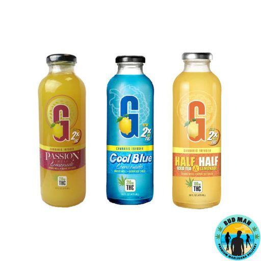 GFarmaLabs G Drinks - Half & Half Lemonade 250mg Drinks Drink