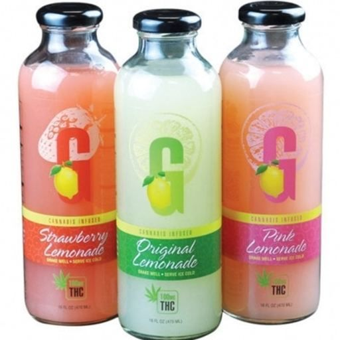 GFarmaLabs G Drinks - Original Lemonade 125mg Drinks Drink