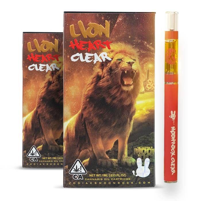 Dr. Zodiak Lion Heart Cartridge, Indica Cartridges 510 Thread