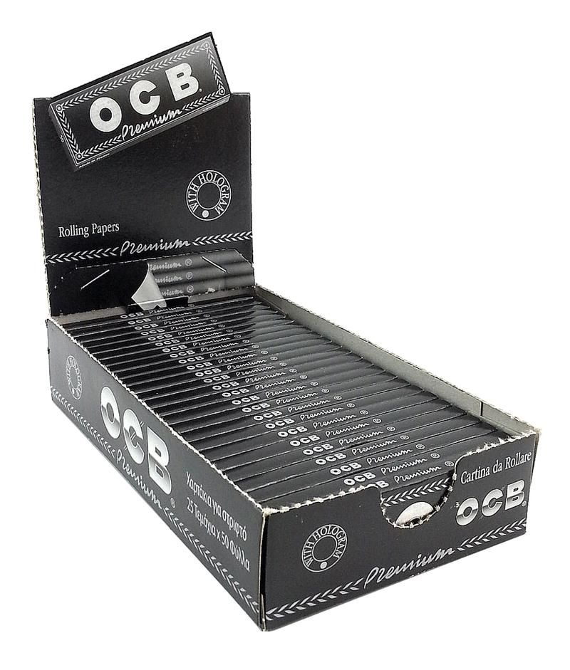OCB OCB Premium Rolling Papers *Every Size* Accessories Paper / Rolling Supplies