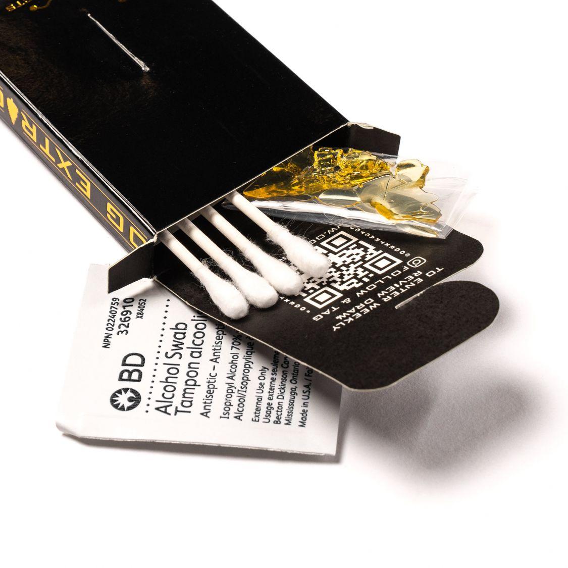 OG Extracts Banana OG Shatter Concentrates Shatter