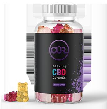 CUR Gummy Bears Misc. CBD Edibles