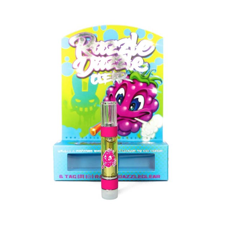 Dr. Zodiak Razzle Dazzle Cartridge, Indica Cartridges 510 Thread