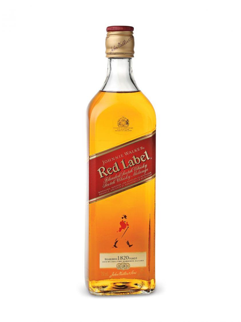 Johnnie Walker Red Label Scotch Whisky Drinks Drink
