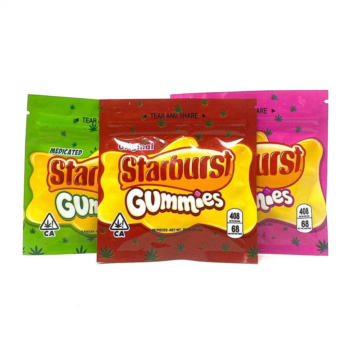 408MG THC Infused Starburst Gummies Edibles Gummies
